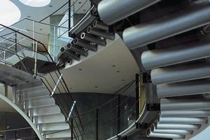 Bürohaus in Gniebel, Architekten: Kauffmann Theilig &amp; Partner, Stuttgart, 1995<br />