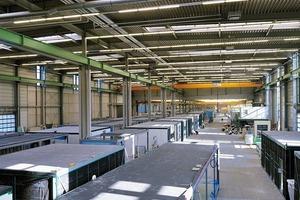 Die witterungsunabhängige Produktion im Werk bringt Vorteile für die Ausführungsqualität und Terminsicherheit