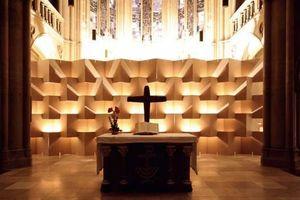 Teilnehmer 2009: Akustikwand Johanneskirche, Stuttgart; Planer: Staatliche Akademie der Bildenden Künste Stuttgart