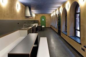 Im so genannten Waschhaus wird auf drei Etagen gekocht, gegessen, gewaschen und gespielt
