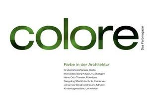 Colore. Das Farbmagazin<br />