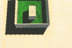 Einer der damaligen Entwürfe für eine Fülle in der Leere: eine Miniaturakademie in einer Garten Klostergarten (Entwurf: Larissa Eischwede und Julius Klaffke)