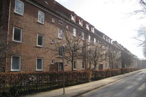 Die Siedlung wurde 1930 gebaut und war deutlich in die Jahre gekommen
