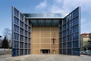 Die Herz Jesu Kirche in München, 2000<br />