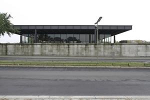 Ca. Ost-Ansicht: Ein Kunstpalast auf marodem Sockel