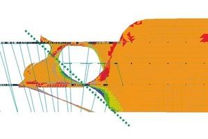 Tragwerksmodell im Entwurf und Ausführung:Spannungsverteilung