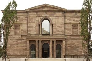 Ansicht Neue Galerie Eingangsportal