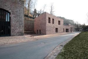 Besucherzentrum am Heidelberger Schloss, Nordost-Ansicht<br />
