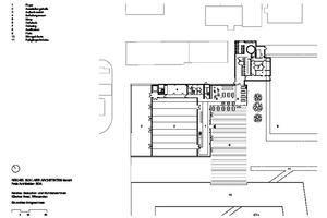 Grundriss Erdgeschoss Kunden- und Besucherzentrum