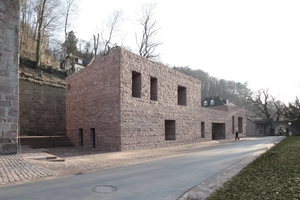 Hugo-Häring-Preis 2015: Besucherzentrum Schloss Heidelberg (Max Dudler)