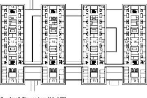 Grundriss 2.Obergeschoss, M 1:1500