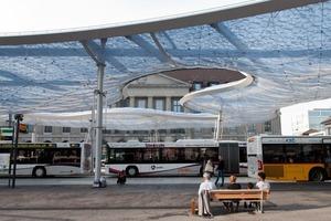 Anstatt des bei Luftkissen ansonsten üblichen Abluftverfahrens verwendeten die Planer in Aarau ein in der Anschaffung teures, dafür jedoch energiesparendes Umluftsystem