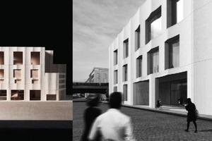 """1. Preis: """"Oromia"""" – Erweiterungsbau des Bode-Museums auf der Museumsinsel in Berlin, Martin Pasztori und Johann Simons, Bauhaus-Universität Weimar<br />"""