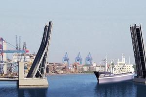 Die Verbesserung für die Schifffahrt liegt in der deutlich größeren Fahrrinnenbreite (von 44 m auf 64m) durch die neuen Klappbrücken<br />