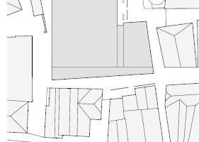 Lageplan, M 1:1750