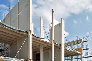 Die für den Holzbau entwickelten Details wurden aufbereitet und dokumentiert, so dass sie Bauherren und Planern auch für zukünftige Holzbauprojekte zur Verfügung stehen