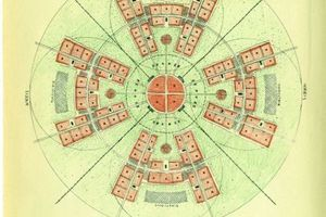 Schema zum Aufbau einer Großstadt für 600.000 Einwohner von Gert Stalmann