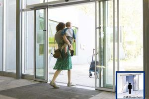Automatische Türen erleichtern die Nutzung im öffentlichen und privaten Bereich