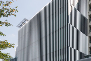 Das Suntory Museum of Art von Kengo Kuma