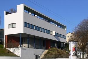 Das Doppelhaus von Le Corbusier ist ein Museum