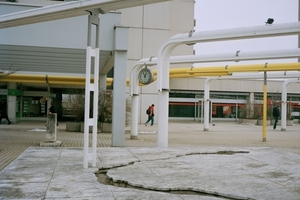 Medialinien, München, Deutschland, 1972 (Foto 2014) Auftraggeber: ODMG, München, Deutschland
