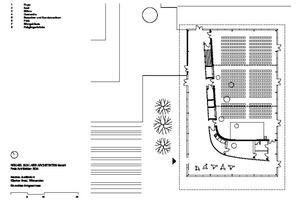 Grundriss Erdgeschoss Auditorium