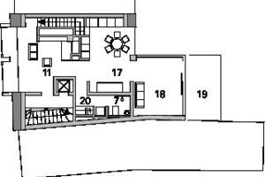 Grundriss Dachgeschoss, M 1:333<sup>1</sup>/3