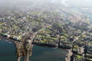 Eine grüne Vision der Innenstadt