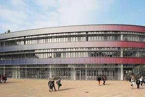 Auch die Fassadenfachplanung wurde von Beginn an in das bauakustische Planungskonzept einbezogen
