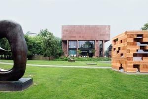 Im Skulpturengarten der Kunsthalle: das Final Wodden House<br />