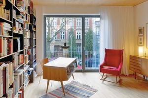 Es gibt 13 Wohnungen zwischen 98m² und 190m²<br />