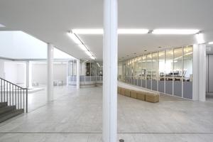 """Blick auf die Cafeteria """"mit Automatenbedienung"""" (Museum)<br />"""