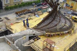 Stahl und Beton wirken im Verbund konstruktiv