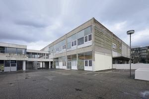 Alte Mensa, gerne auch Labsaal genannt. Dient heute - nach temporären Einbauten - der Unterkunft für über 300 Flüchtlinge
