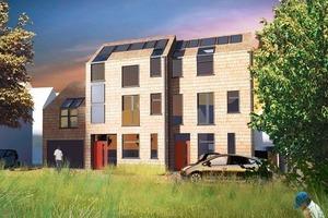 Die CarbonLight Homes in im britischen Rothwell setzen auf Energiegemeinschaften