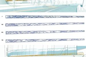 Brücke Reden, Wettbewerb 2007, FloS und K Architekten<br />