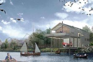 Das Haus der Projekte am Müggenburger Zollhafen