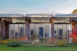 Die Fondation Beyeler. Architekt: Renzo Piano