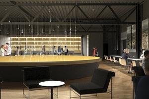 "Ausstellungsbau ""Pergamon. Das Panorama"": Café"