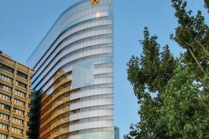 Hochhaus mit Passivhaus-Zertifikat: Der Neubau der Raiffeisen-Holding NÖ-Wien