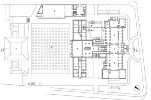 Grundriss Erdgeschoss, M 1:1250<br />