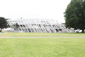Der Pavillon von Jürgen Mayer H. im Schlossgarten von Karlsruhe