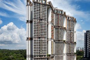 Finalist: SkyVille@Dawson, Singapur  Architekten: WOHA Architects, Singapur