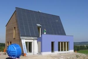 Energetikhaus 100 - Ganzjahressolarhaus, Freiberg