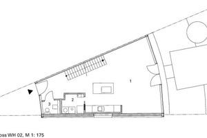 Grundriss EG, WH 2, M 1:175<br />