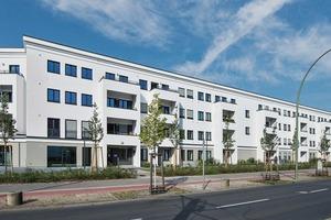 Bauen im Bestand: Das Studentenwohnheim an der Treskowallee ist erhalten, saniert und modernisiert worden