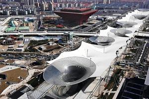 Expo Shanghai, 2010; Architekten: SBA GmbH Stuttgart, Shanghai<br />