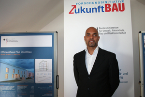 Marc Gabriel zeichnet im Büro Werner Sobek als Projektleiter verantwortlich für die Sanierung Pfuhler Straße 4-6