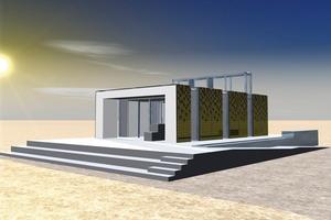 Der Wettbewerbsbeitrag der Stuttgarter home+ kombiniert traditionelle Grundprinzipien und moderne Materialien. Modulbauweise und Schichtung der Funktionen geben eine klare Zonierung vor<br />