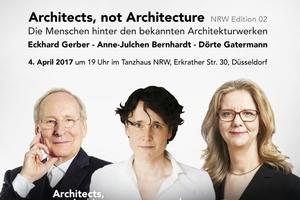 Die drei werden von sich erzählen: Eckhardt Gerber, Anne-Julchen Bernhardt und Dörte Gatermann